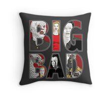 Buffy the Vampire Slayer - BIG BAD Variant Throw Pillow