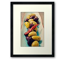 Olives @ Guildford Landing Framed Print