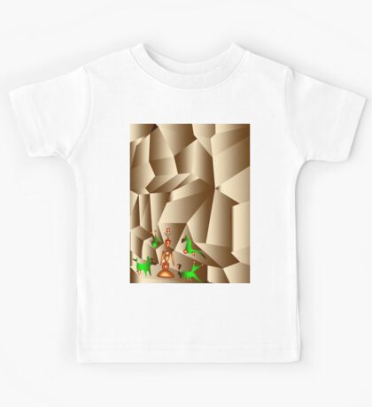 Power from the mother of the rocks Kids Tee
