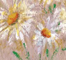 Flower V Sticker