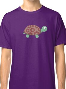 Cute Turtle with flowers Classic T-Shirt