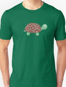 Cute Turtle with flowers Unisex T-Shirt