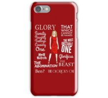 Glorificus - Buffy the Vampire Slayer iPhone Case/Skin