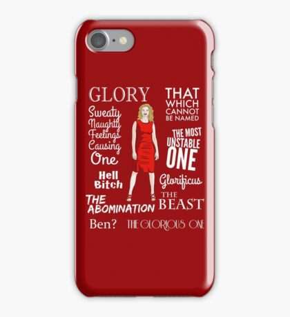 Glorificus - Buffy the Vampire Slayer iPhone Case/Skin