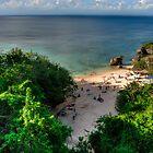 Padang Padang Beach by Jayme Rutherford