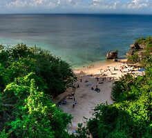 Padang Padang Beach by Jayme Rutherford