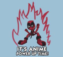 It's anime power up time! Kids Clothes