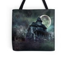 The Haunted House Paranormal Tote Bag