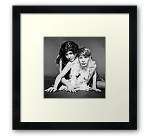 B(i)est friends Framed Print