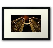 Petronas Night Framed Print