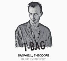 """Theodore """"T-BAG"""" Bagwell - Prison Break by WarnerStudio"""