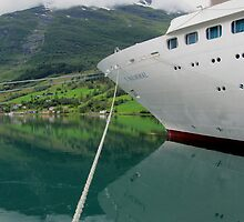Reflections on a cruise by Linda Ridpath