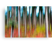 Treecolour Canvas Print