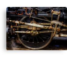 Railroad Wheel Canvas Print