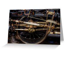 Railroad Wheel Greeting Card