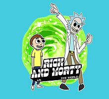 Rick and Morty vs The World by BovaArt