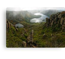 Get your head out of the clouds Canvas Print