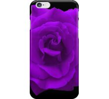 Single Large High Resolution Purple Rose iPhone Case/Skin