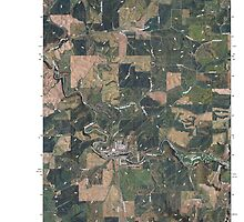 USGS Topo Map Washington State WA Palouse 20110406 TM by wetdryvac