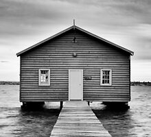 Crawley Edge Boatshed - Perth WA by Daniel Carr