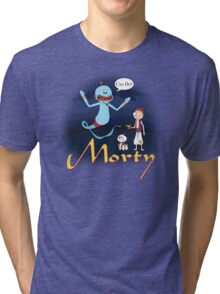 Rick and Morty Aladdin Parody Tri-blend T-Shirt
