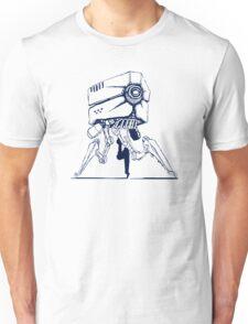 Robot tripod Unisex T-Shirt