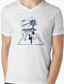 Robot tripod Mens V-Neck T-Shirt