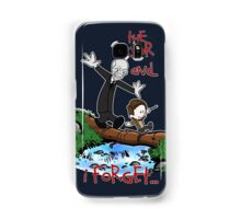 Calvin and Hobbes Doctor Samsung Galaxy Case/Skin