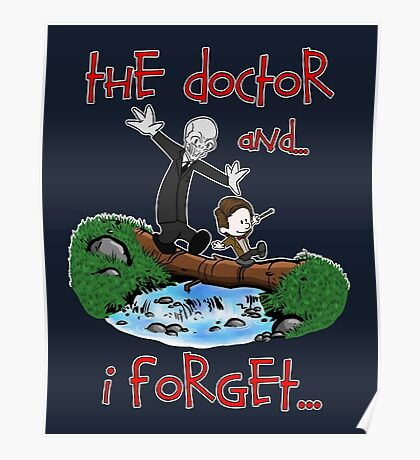 Calvin and Hobbes Doctor Poster