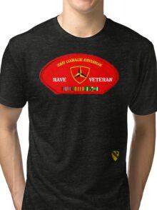 Rave Veteran - 2nd Garage Division Tri-blend T-Shirt