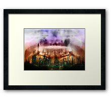 X Ray skies 3 Framed Print