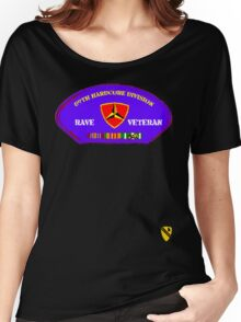 Rave Veteran - 89th Hardcore Division Women's Relaxed Fit T-Shirt