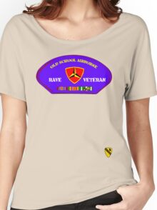 Rave Veteran - Old School Airborne Women's Relaxed Fit T-Shirt