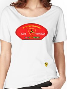 Rave Veteran - 1st Techno Division Women's Relaxed Fit T-Shirt