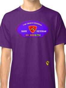 Rave Veteran - 7th Trance Division Classic T-Shirt