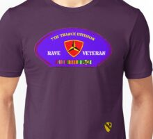 Rave Veteran - 7th Trance Division Unisex T-Shirt