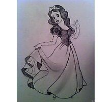 Snow White. Photographic Print