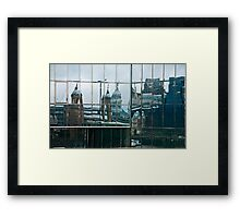 Twisted London Framed Print
