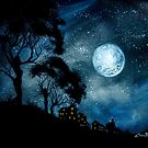Moonage Daydream by Cherie Roe Dirksen