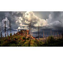 Cascades Glow Photographic Print