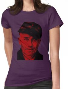 """Ed Gein -""""The Mad Butcher""""- Serial Killer Womens Fitted T-Shirt"""