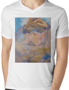 Clouds Mens V-Neck T-Shirt