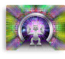 Robot Space Traveler Canvas Print