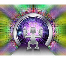 Robot Space Traveler Photographic Print