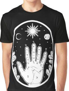 Palm Reader Graphic T-Shirt
