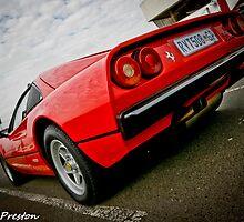 Ferrari Power  by David  Preston