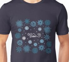 Beautiful snowflakes Unisex T-Shirt