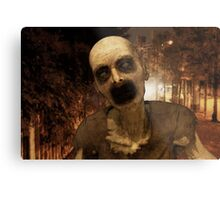 Undead in The City Metal Print