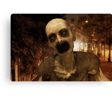 Undead in The City Canvas Print