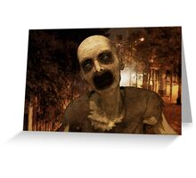 Undead in The City Greeting Card